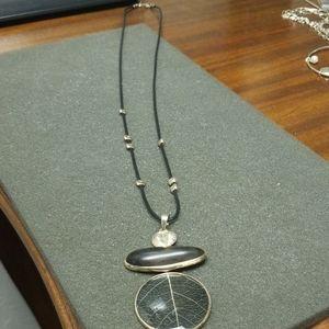 Silpada Black Ebony Wood Necklace